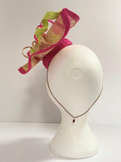 Dita Swirl Fascinator By Oana Millinery