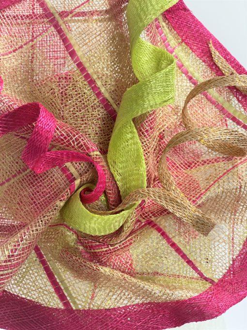 Dita Swirl Fascinator By Oana Millinery Detail