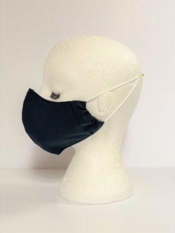 Face Mask Men Dark Grey by Oana Millinery