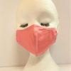 Face Mask Women Pink For Kids by Oana Millinery