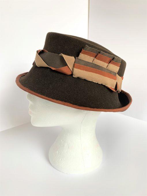 Omega Bespoke Hat By Oana Millinery