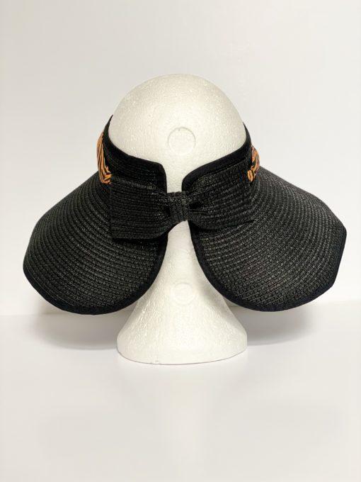 paper straw hat no top oana millinery animal print var1 4